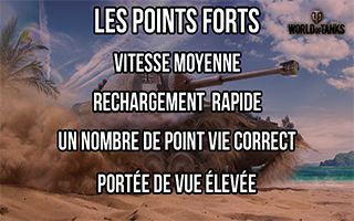 Point fort char moyen