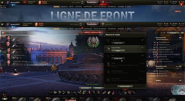 reserve combat world of tank denetax